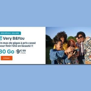Forfait mobile : Bouygues Telecom prolonge sa meilleure offre à 9,99 € par mois