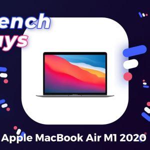 Le MacBook Air M1 2020 est de retour avec une promotion inédite pour les French Days