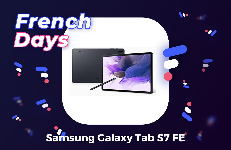 À peine sortie, la Samsung Galaxy Tab S7 FE coûte déjà 100 € de moins pour les French Days