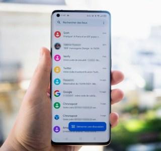 Google Messages profite de sa toute nouvelle interface Material You
