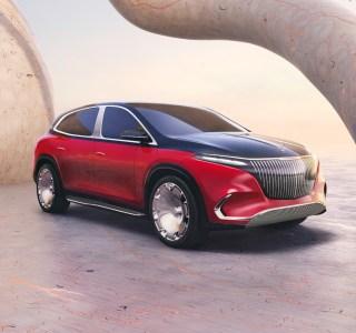 Mercedes-Maybach EQS: ce concept de SUV électrique déclare sa flamme au luxe