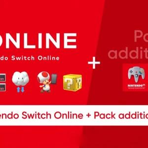 Nintendo Switch Online + Pack additionnel : la N64 et la Mega Drive arrivent sur Switch avec manettes et abonnements