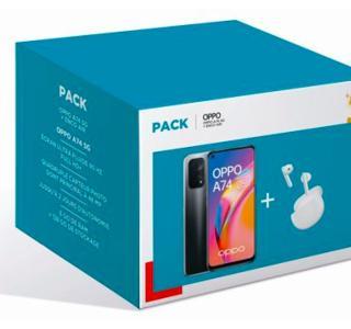 Le pack Oppo A74 5G + écouteurs sans fil passe de 379 à seulement 269 euros (-29 %)
