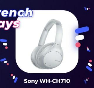 Sony WH-CH710 : un bon casque à réduction de bruit pour seulement 63 € lors des French Days