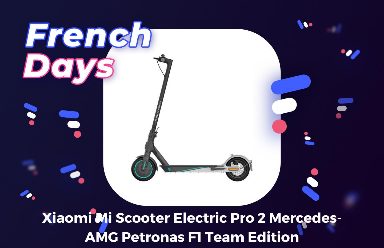 Xiaomi Mi Pro 2 : l'édition Mercedes de la trottinette est en promotion pour les French Days