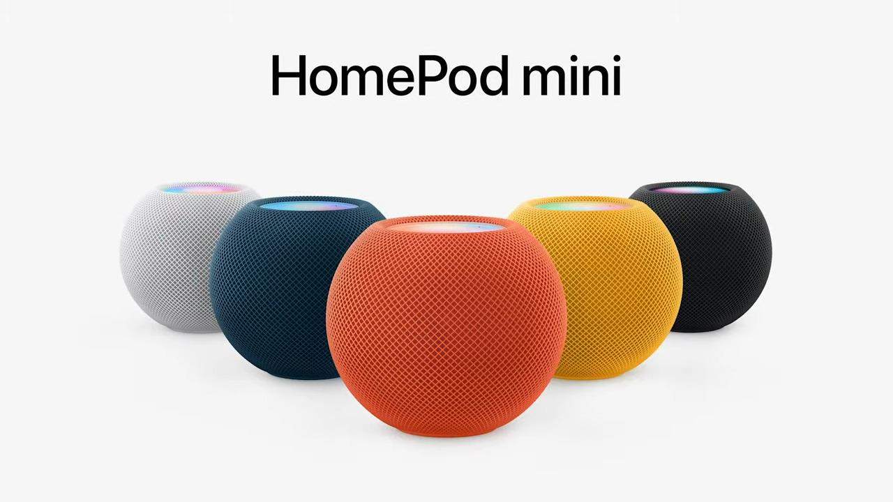 Le HomePod mini débarque dans différentes couleurs : il y en a pour tous les goûts