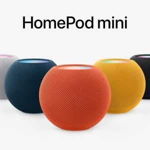 Les HomePod mini débarquent dans différentes couleurs