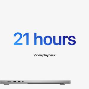 Apple MacBook Pro 2021 : une autonomie triomphante grâce aux puces M1 Pro et M1 Max