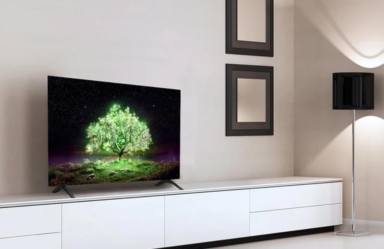 TV 4K : le petit modèle LG OLED A1 de 48 pouces est presque à -40 %