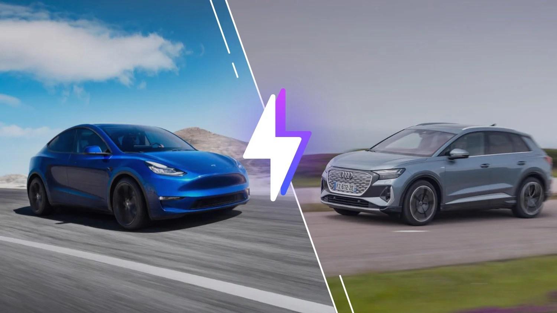 Tesla Model Y vs Audi Q4 e-tron: laquelle est la meilleure voiture électrique?