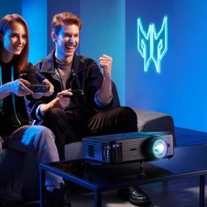 De l'écran au vidéoprojecteur : Acer veut équiper les gamers du sol au plafond