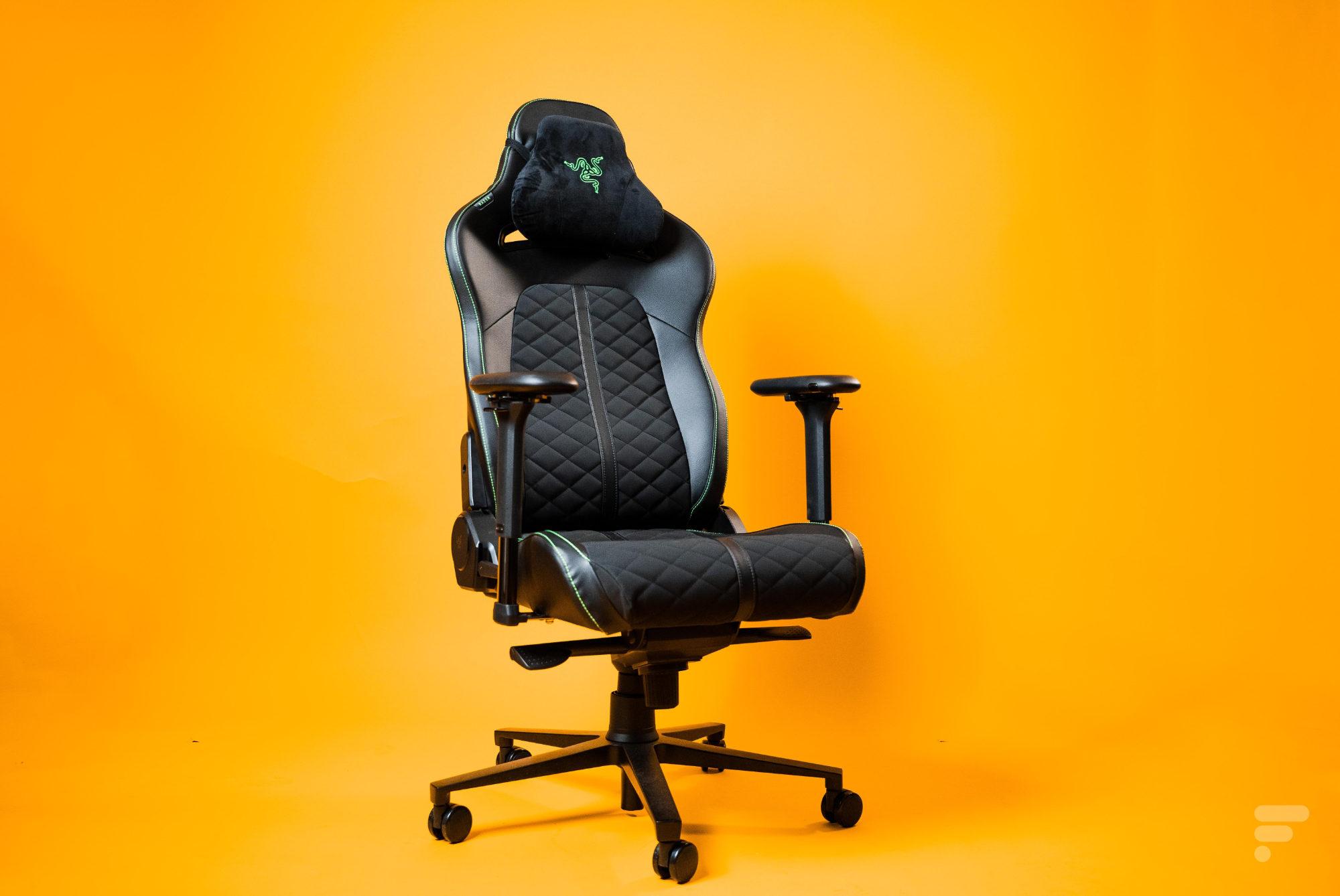 Test de la Razer Enki : une chaise gaming confortable et relativement sobre