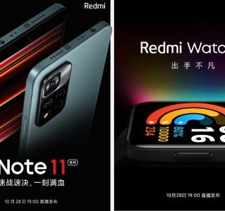 Redmi Note 11 et Note 11 Pro, Redmi Watch 2 : Xiaomi dévoile leur date de présentation
