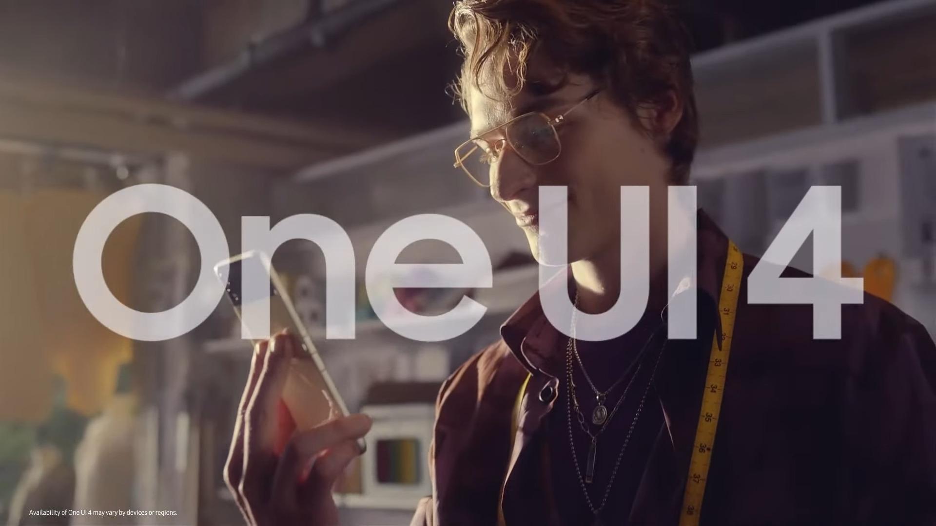 Samsung Galaxy Unpacked: regardez ce petit aperçu de One UI 4 en direct