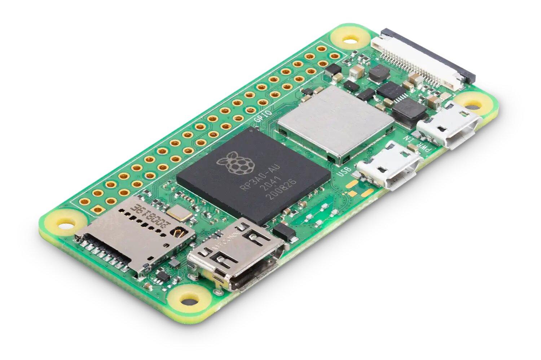 Raspberry Pi Zero 2 W annoncé : 15 petits dollars mais des centaines d'usages possibles