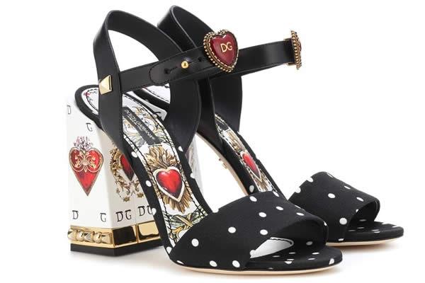 chaussures dolce & gabbana coeur