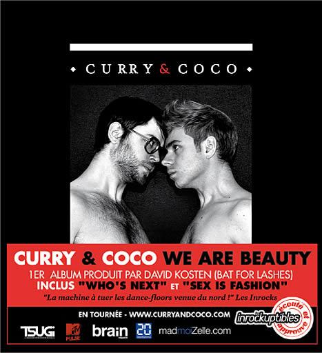 Curry & Coco : madmoiZelle.com partenaire de leur 1er album