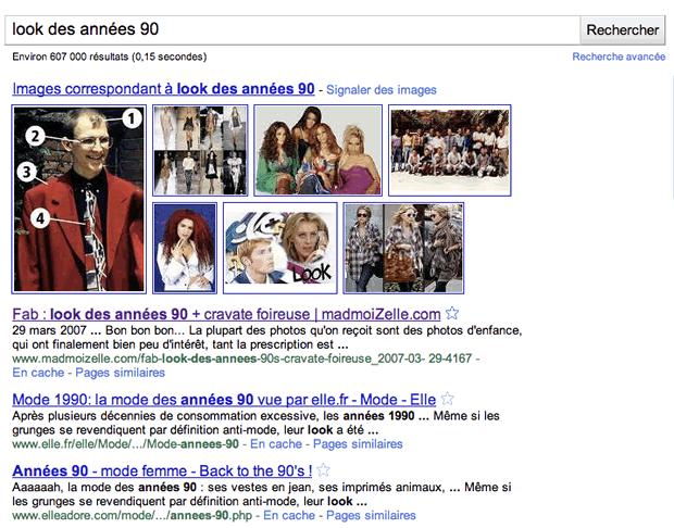 Les joies du référencement Google