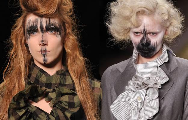 maquillage westwood fashion week