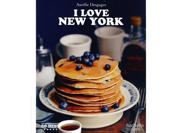 I love New-York, le livre de recettes d'Aurélie Desgages