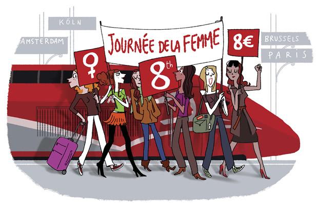 Bon plan Thalys : 8000 billets à 8€ !