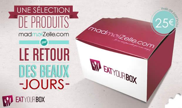 La box gourmande de madmoiZelle est de retour !