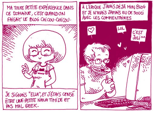 Boulet parle des commentaires sur les blogs BD de femmes