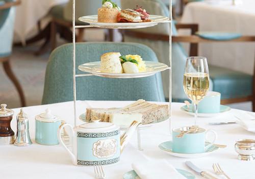 L'Afternoon Tea, une vieille tradition bien sympathique