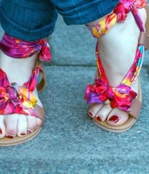 diy-sandales-foulard
