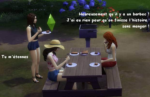 Juliette Margaux Sophie barbecue