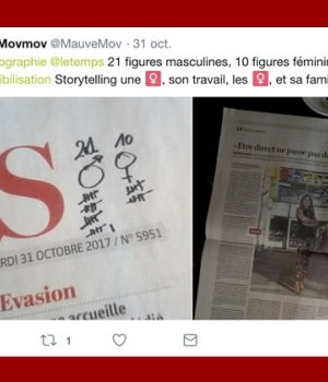 invisibilisation-femmes-journaux-le-temps