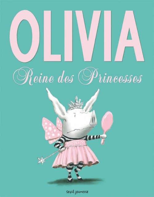 Olivia, reine des princesses, Ian Falconer, Seuil jeunesse