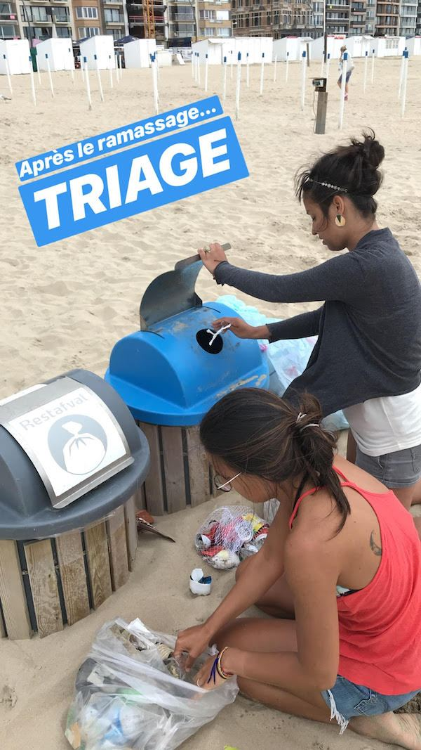 Je nettoie la plage en vacances, et tu peux le faire aussi!