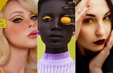 jaune-maquillage-yeux-pantone-illuminating