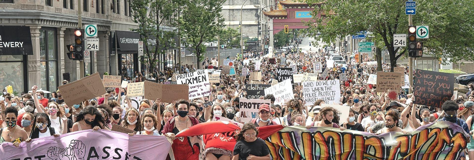 Manifestation Montréal