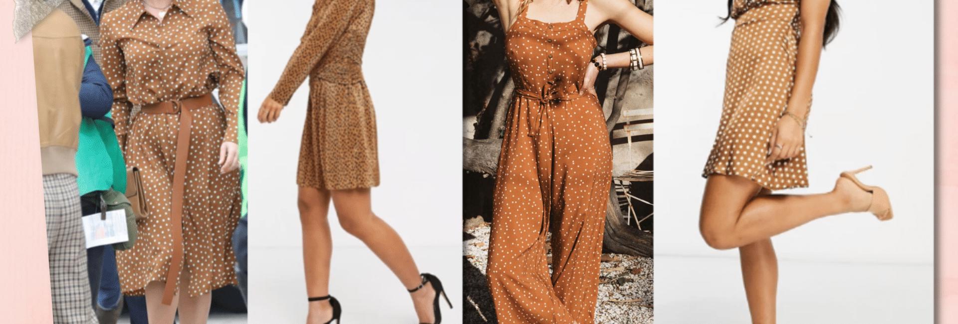 Shopping de vêtements à pois à la Lady Gaga dans