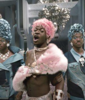 Le rappeur Lil Nas X dans le clip