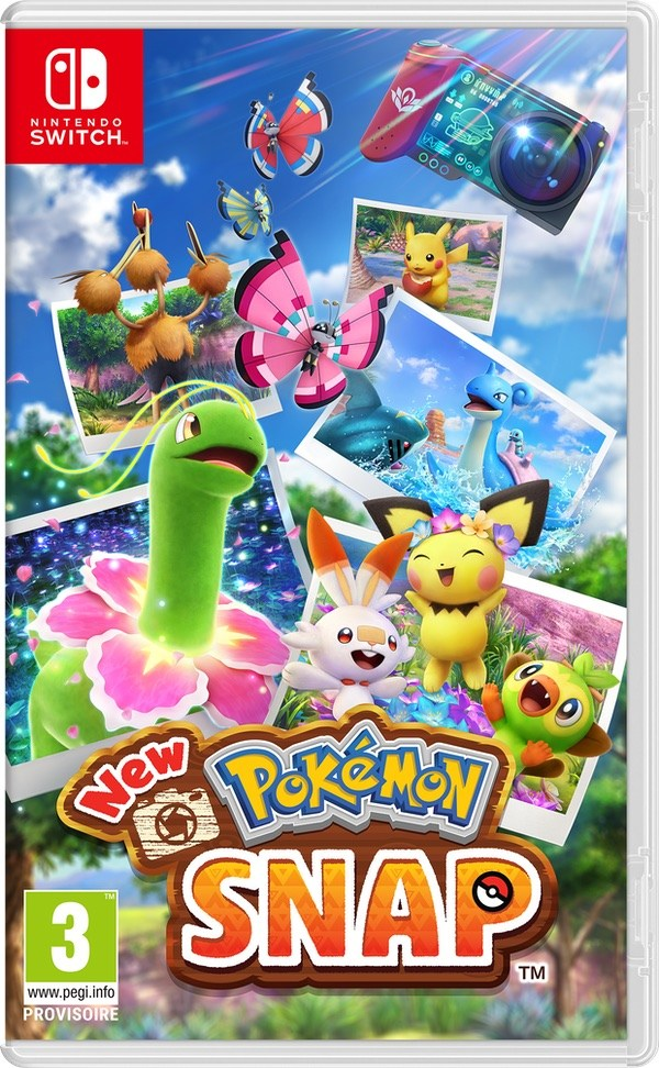 New Pokemon Snap le jeu