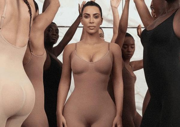 Les sous-vêtements sculptants Skims de Kim Kardashian se déclinent dans plusieurs teintes de nude