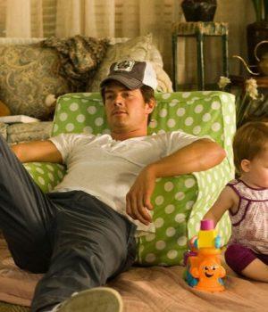 Un père et son bébé