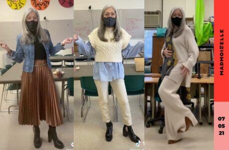 Mrs Masuda, la prof d'art devenue icone mode