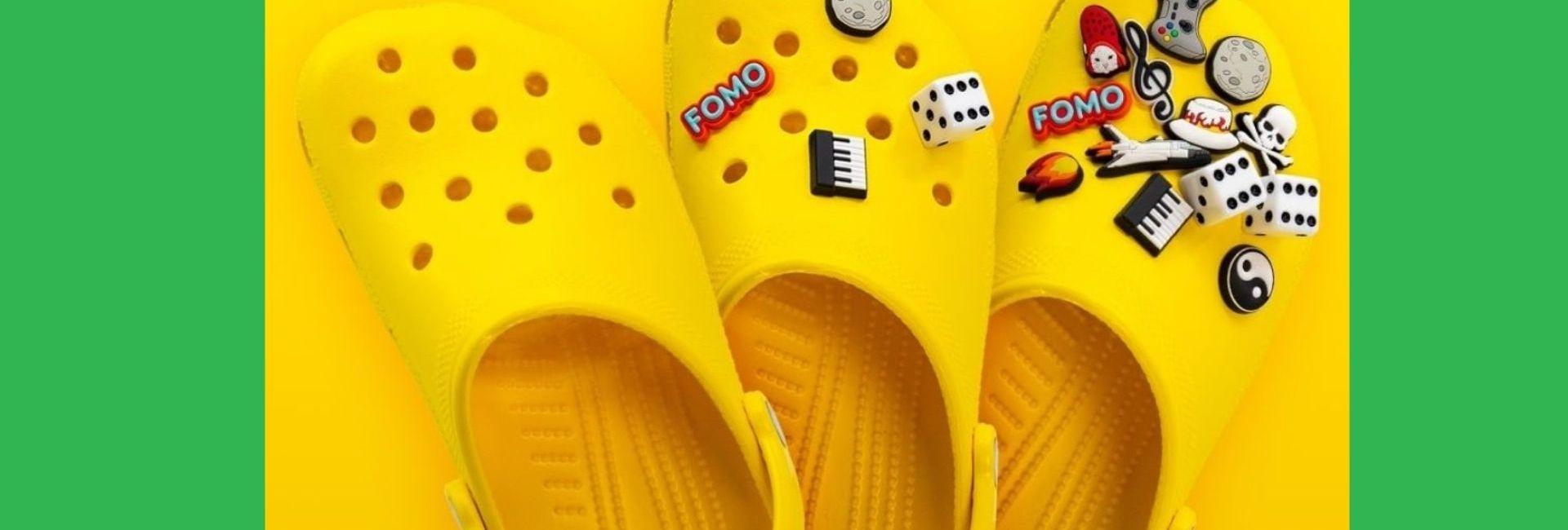 Les Crocs peuvent être customisées à l'infini