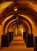 visite virtuelle des caves à champagne Taittinger
