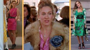 Capture d'écran de la série et du premier film Sex and the City