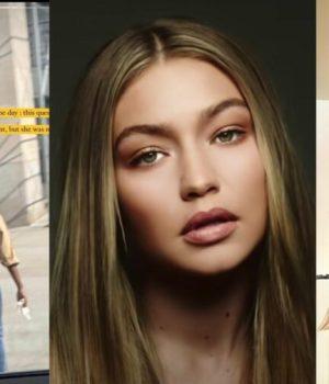 Repérée par hasard par la top Gigi Hadid dans la rue, cette mannequin voit sa carrière décoller