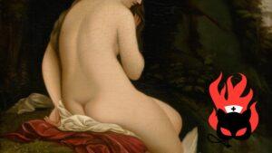 Peinture de femme nue