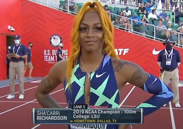 shacarri richardson trials USA JO