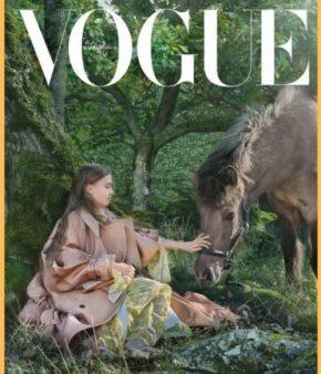 Greta Thunberg en couverture du premier Vogue Scandinavia
