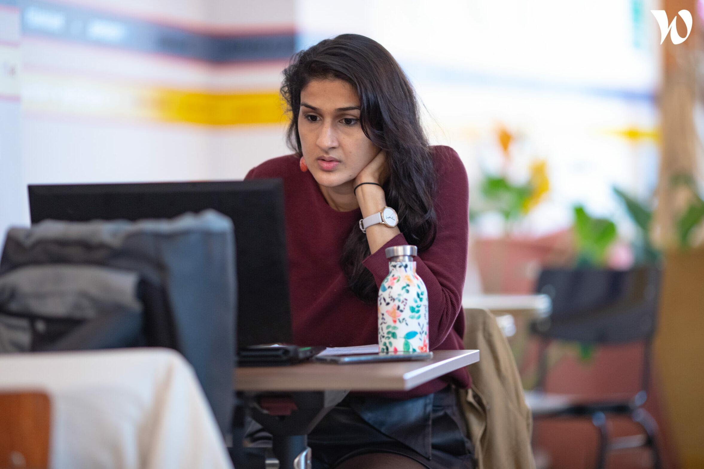 Gulshan, 35 ans, apprenante à Ada Tech School