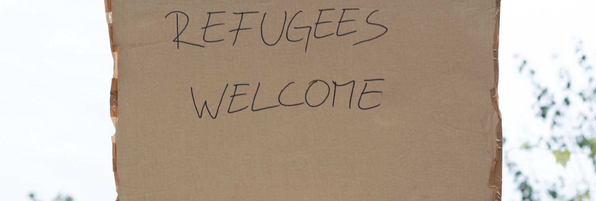 refugees welcome – marco verch flickr